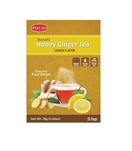 Honey Ginger Tea - Lemon Flavor