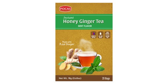 Honey Ginger Tea - Mint Flavor