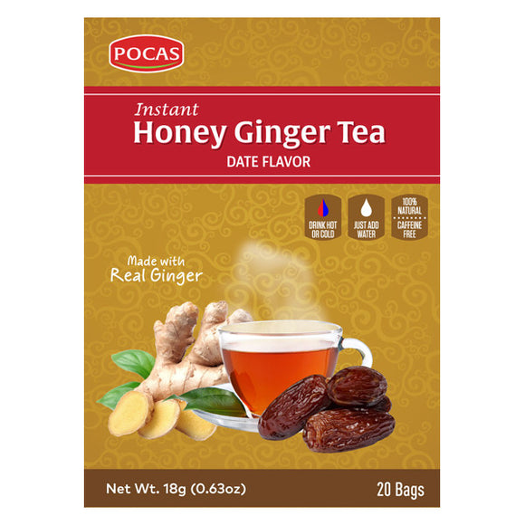 Honey Ginger Tea - Date Flavor