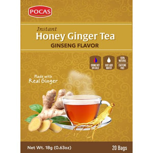 Honey Ginger Tea - Ginseng Flavor