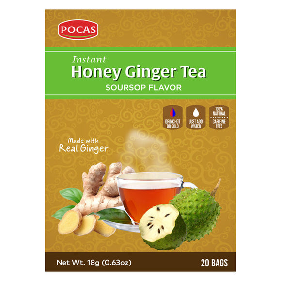 Honey Ginger Tea - Soursop Flavor