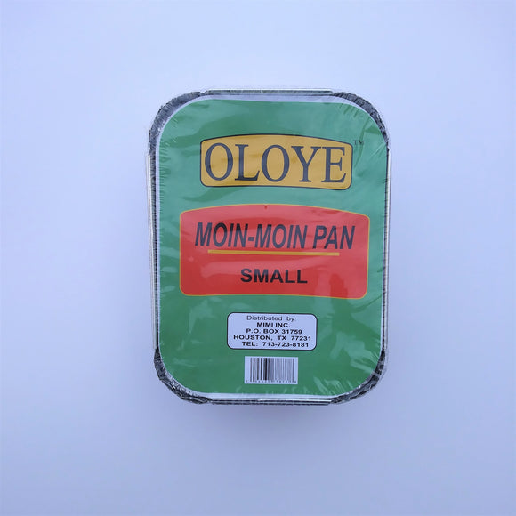 Moin Moin Foil Pan with Cover