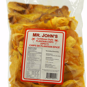 Mr. John's Caribbean Style Plantain Chips (Spicy)