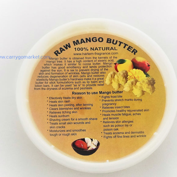 Raw Mango Butter 8oz - Carry Go Market