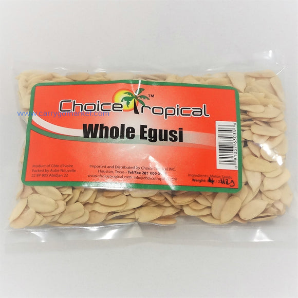Whole Egusi Seeds 4oz - Carry Go Market
