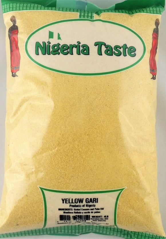 Nigeria Taste Yellow Gari - Carry Go Market