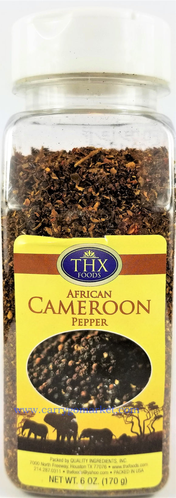Cameroon Pepper Flakes - Carry Go Market
