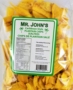 Mr. John's Plantain Chips 3.2oz - Carry Go Market
