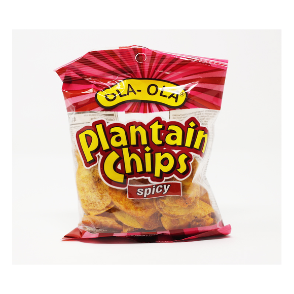 Ripe Spicy Plantain Chips - Ola Ola