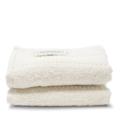 Thick Organic Cotton Face Flannel (2-Pack) - 100% Organic Cotton