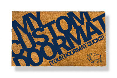 Build your own Bison doormat (in real time!)