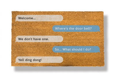 Send Us Your Idea For a New Doormat Design! (And Be Rewarded!)