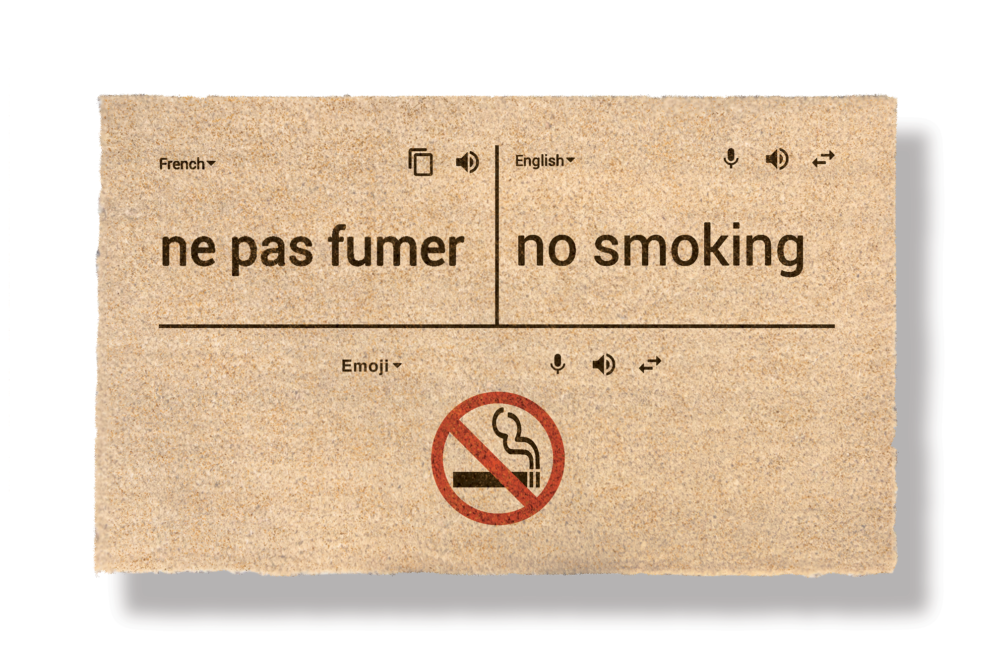 NO SMOKING IN FRANCE