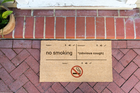 NO SMOKING IN THE USA