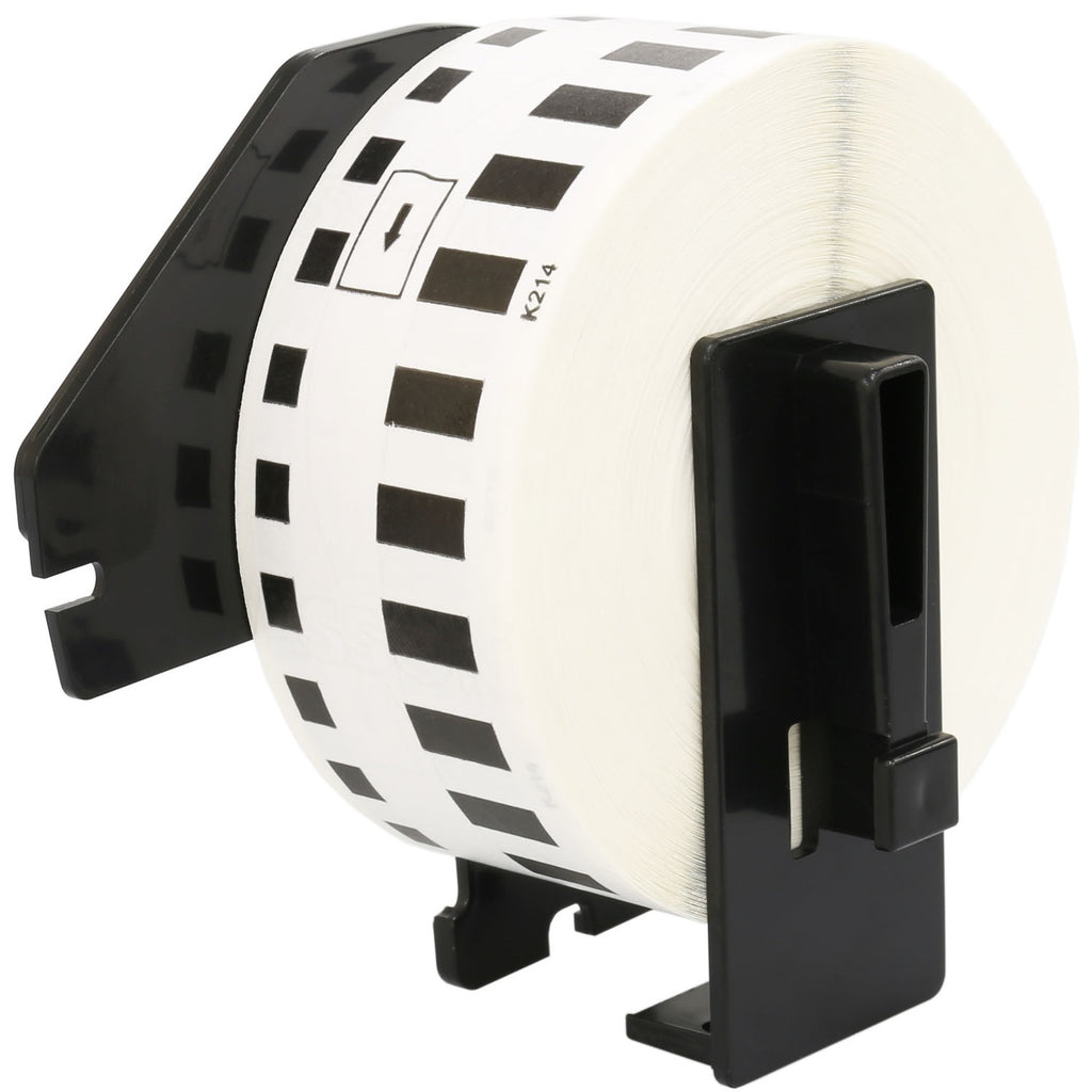 DK-22214 12 mm x 30.48 m Compatible Continuous Paper Label Tape for Brother P-Touch QL-1050 QL-550 QL-500 QL-570 - Printing Saver