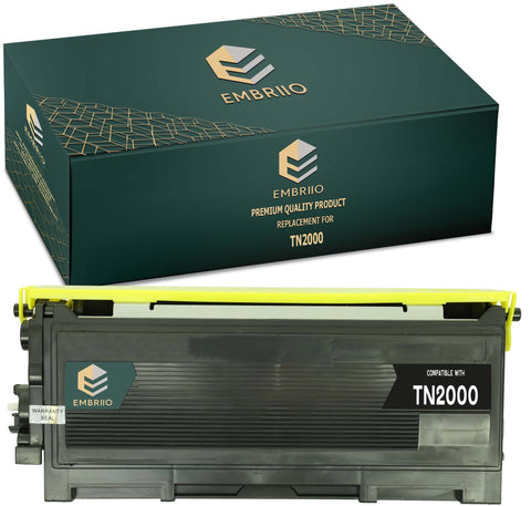 Compatible Brother TN-2000 TN2000 TN 2000 Toner Cartridge by EMBRIIO