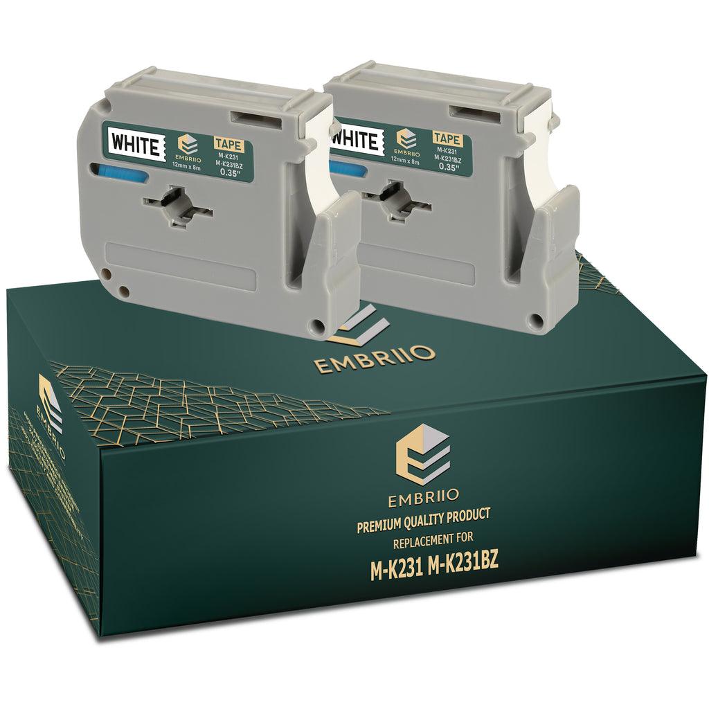 Compatible Brother M K231 MK231 Label Tapes