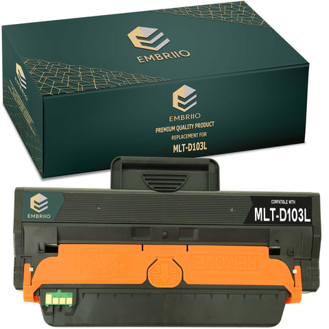 Compatible Samsung MLT-D103L MLT-D103L/ELS D103L SU716A Toner Cartridge by EMBRIIO