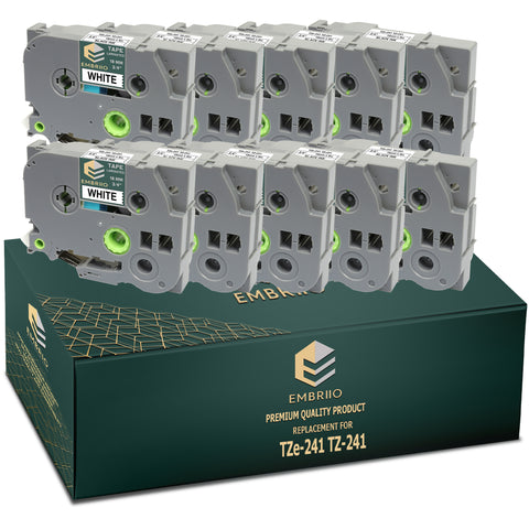 Compatible Brother TZe-241 TZ-241  Label Tapes