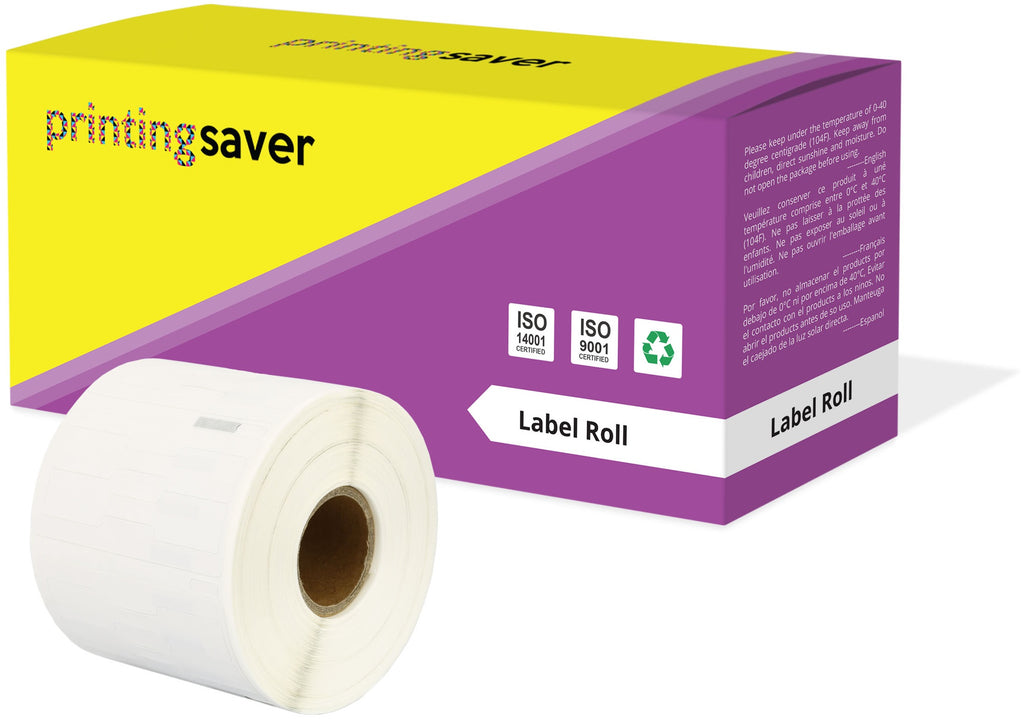 Compatible Roll 11351 11mm x 54mm Labels for Dymo LabelWriter 300 320 400 450 Turbo - Printing Saver