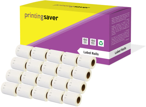 Compatible Roll 14681 S0719250 57mm x 57mm Labels for Dymo LabelWriter 300 320 400 450 Turbo - Printing Saver