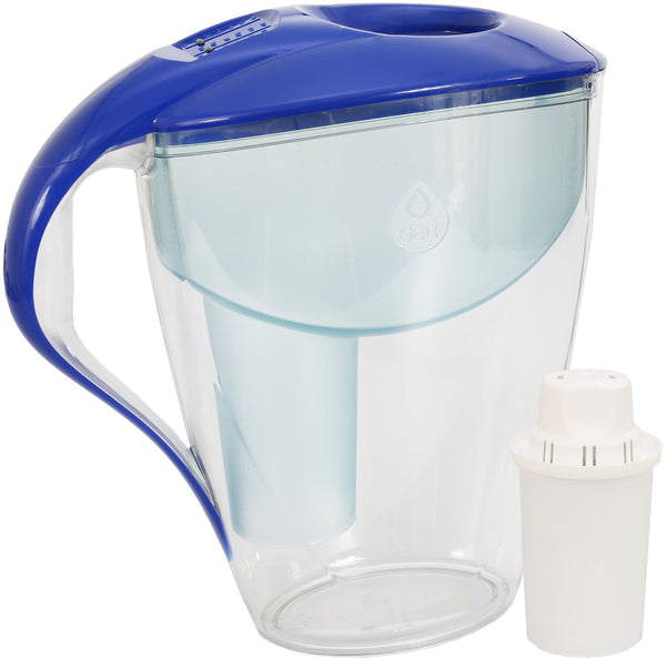 Water Filter Jug Dafi Astra Classic 3.0L with Free Filter Cartridge - Blue - Printing Saver