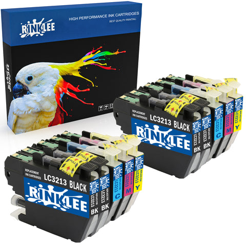 Compatible ink cartridge LC3213 replecement for Brother by Rinklee