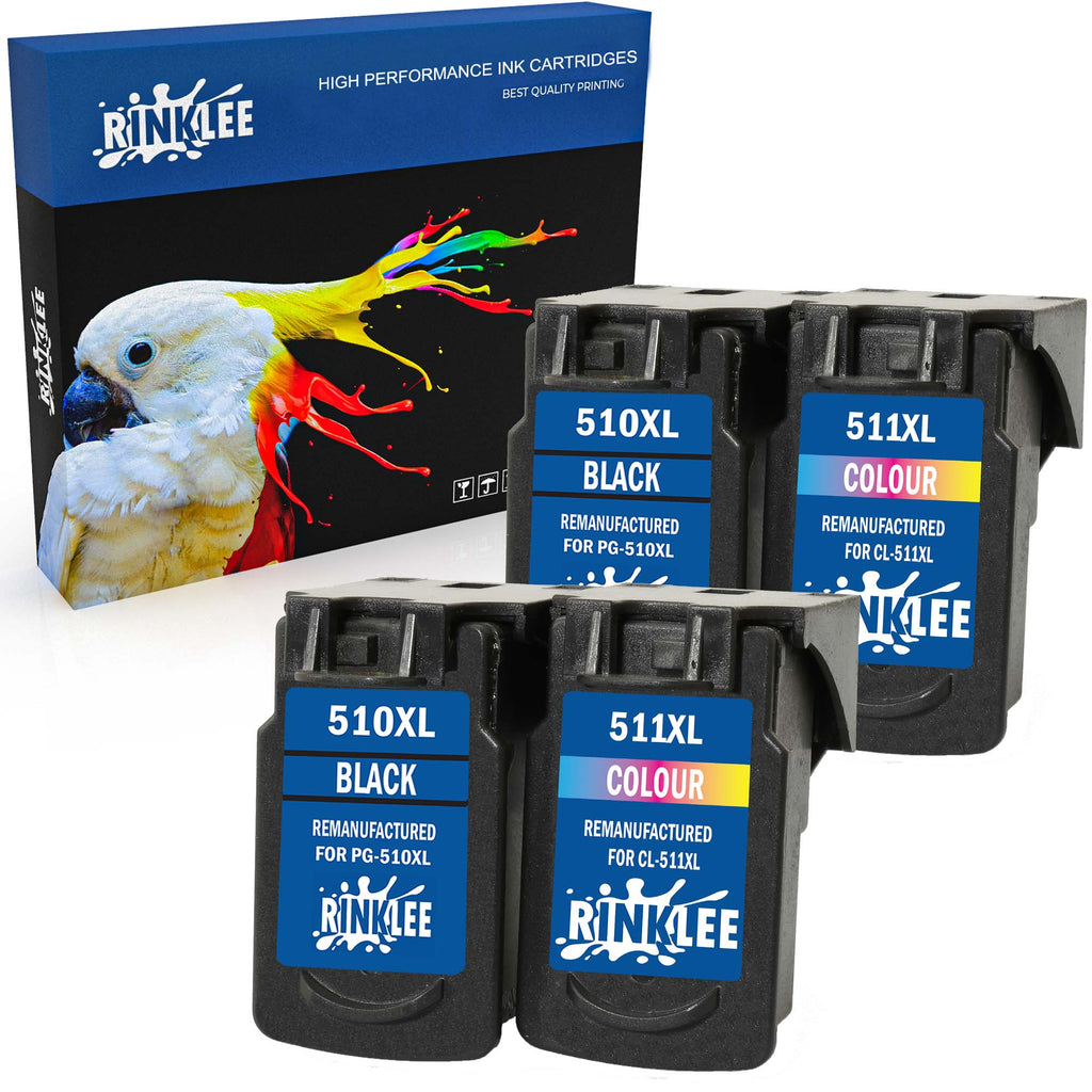 Remanufactured Ink Cartridge Canon PG-510XL PG-510 XL replacement by RINKLEE