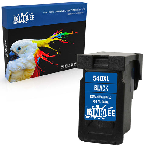 Remanufactured Ink Cartridge Canon PG-540XL PG-540 XL replacement by RINKLEE