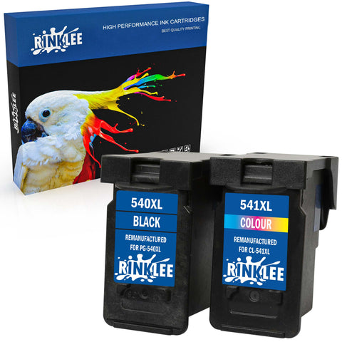 Remanufactured Ink Cartridge Canon PG-540XL CL-541XL replacement by RINKLEE