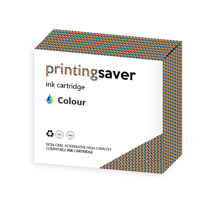 Printing Saver HP 27 XL & 28XL (black, colour) compatible ink cartridges for HP Deskjet 3520, 5850, 3320, 3550 - Printing Saver