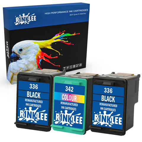 Remanufactured Ink Cartridge HP 336 342 replacement by RINKLEE