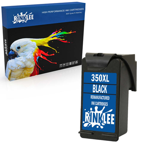 Remanufactured Ink Cartridge HP 350XL 350 XL replacement by RINKLEE