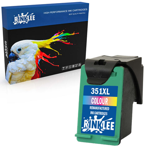 Remanufactured Ink Cartridge HP 351XL 351 XL replacement by RINKLEE