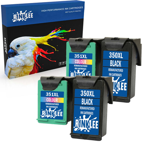 Remanufactured Ink Cartridge HP 350XL 351XL replacement by RINKLEE