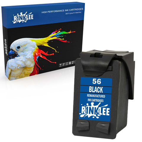 Remanufactured Ink Cartridge HP 56 replacement by RINKLEE
