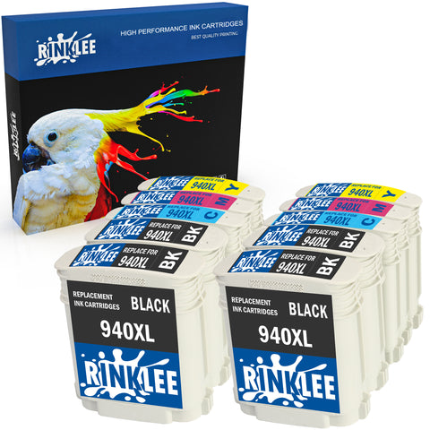 Compatible ink cartridge 940 XL replecement for HP by Rinklee