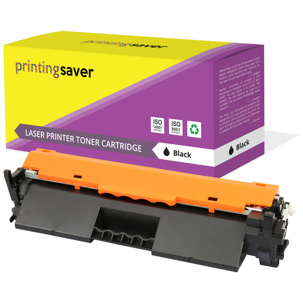 PRINTING SAVER® Compatible with CF217A 17A HIGH YIELD Toner Cartridge Replacement for HP - Printing Saver