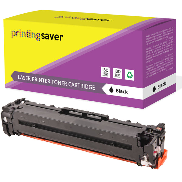Printing Saver Compatible CB540A 125A compatible colour toner for HP colour Laserjet CP1518ni, CP1510, CM1312nfi, CP1514n - Printing Saver