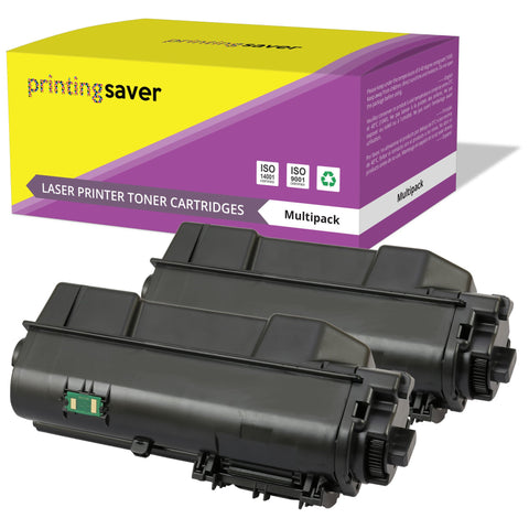 PRINTING SAVER® Compatible with TK1160 High Quality Toner Cartridge Replacement for KYOCERA - Printing Saver