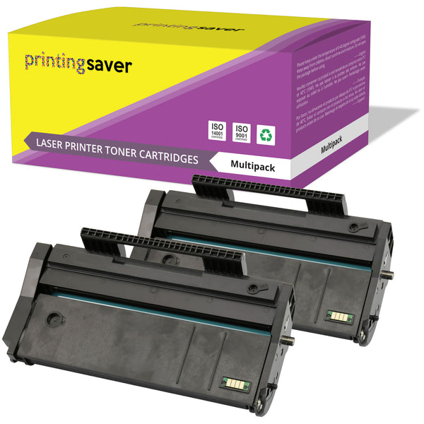 PRINTING SAVER® Compatible with 407166 High Quality Toner Cartridge Replacement for RICOH - Printing Saver
