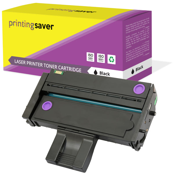 PRINTING SAVER® Compatible with 407254 High Quality Toner Cartridge Replacement for RICOH - Printing Saver