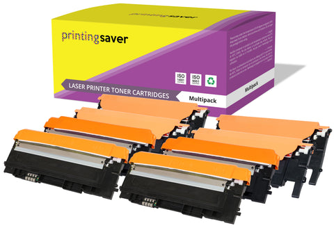 Printing Saver Compatible CLT-K4072S colour toner for SAMSUNG CLP-320, CLP-325, CLX-3180, CLX-3185 - Printing Saver