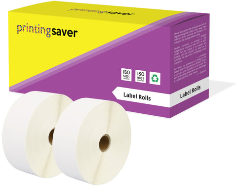 Compatible Roll 50mm x 52mm White Direct Thermal Labels for Zebra GK420d ZD420 TLP 2844 Citizen CL-S521 - Printing Saver