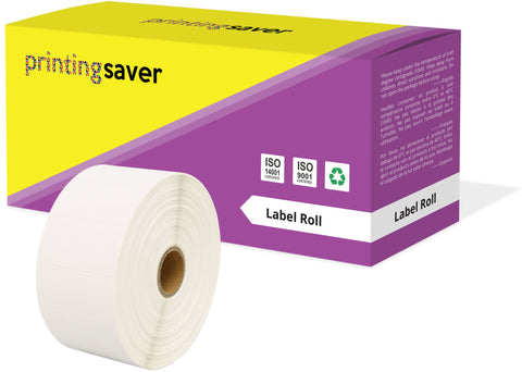 Compatible Roll 52mm x 25mm White Direct Thermal Labels for Zebra GK420d ZD420 TLP 2844 Citizen CL-S521 - Printing Saver