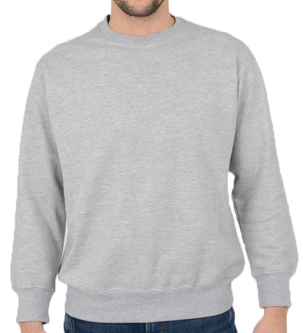 Light Grey Iconic Classic Sweatshirt ~ Five Emperors