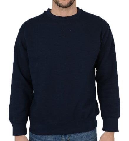 Navy Icon Classic Sweatshirt ~ Five Emperors