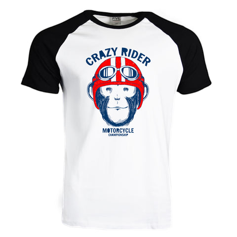 Crazy Rider Graphic T-Shirt