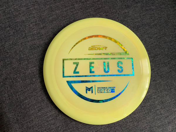 Discraft ESP Zeus First Run Distance Driver