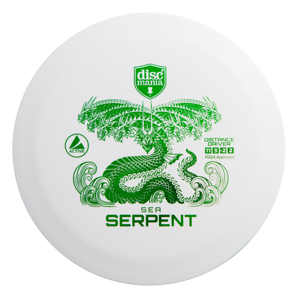 Active Sea Serpent Distance Driver by Discmania